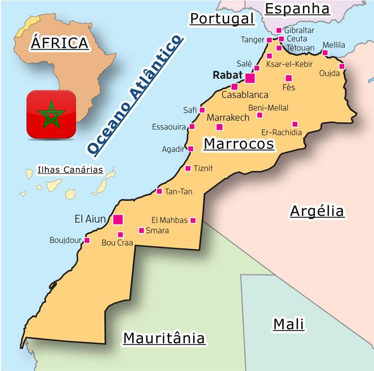 mapa marrocos cidades Rubrica| O quanto eu gostava de ir a Marrocos!   Be Awesome, Be You mapa marrocos cidades